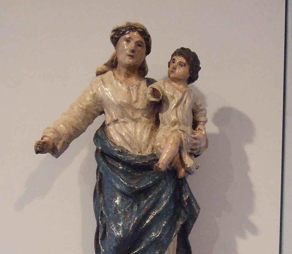 Vierge à l'enfant – Musée Paul Delouvrier